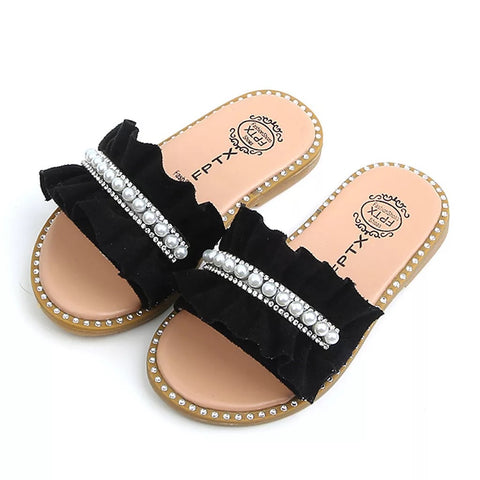 Roseau Slides In Black
