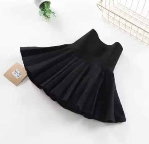 Aurora Pleated Knit Skirt