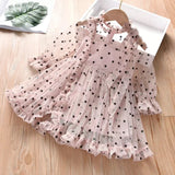 Valencia Polka Dot Ruffled Dress