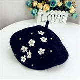 Lyon French Embellished Beret