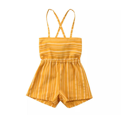 Madrid Striped Romper
