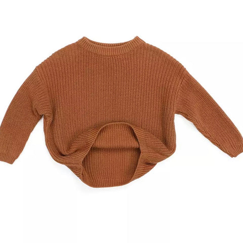 Vail Knit Sweater in Mocha