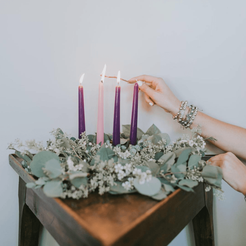 Advent Wreath: The Family That Prays Together, Stays Together