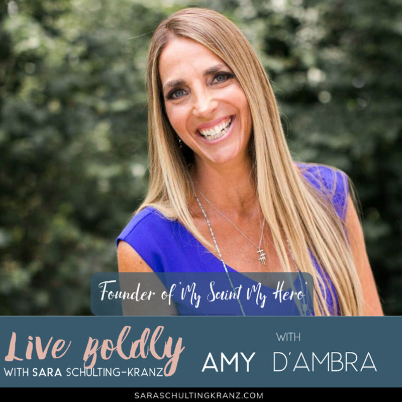 Live Boldly Podcast! Do you have something tangible that anchors you?