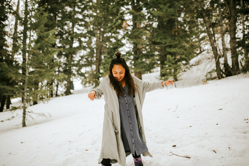 Madi Myers in the snow, Cook/Photographer, Storyteller, Missionary