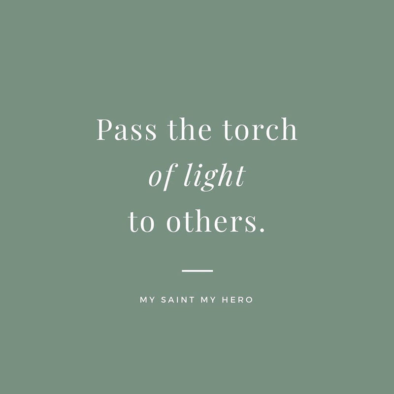 Pass the Torch of Light to Others