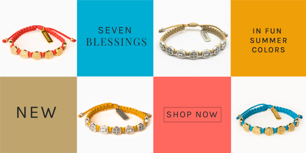 Seven Blessings Bracelet collage