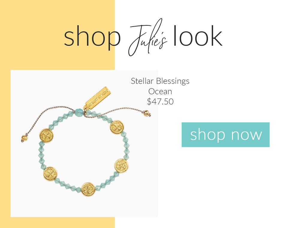 Stellar Blessings Ocean Swarovski Blessing Bracelet Shop Now