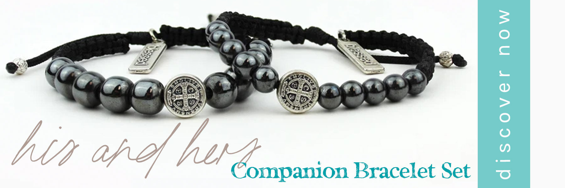 His and Hers Companion Blessing Bracelet Set Shop Now