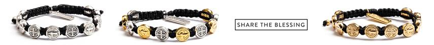 Shop the Original Saint Benedict Blessing Bracelet of Protection