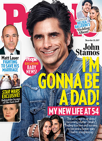 John Stamos on the cover of People Magazine