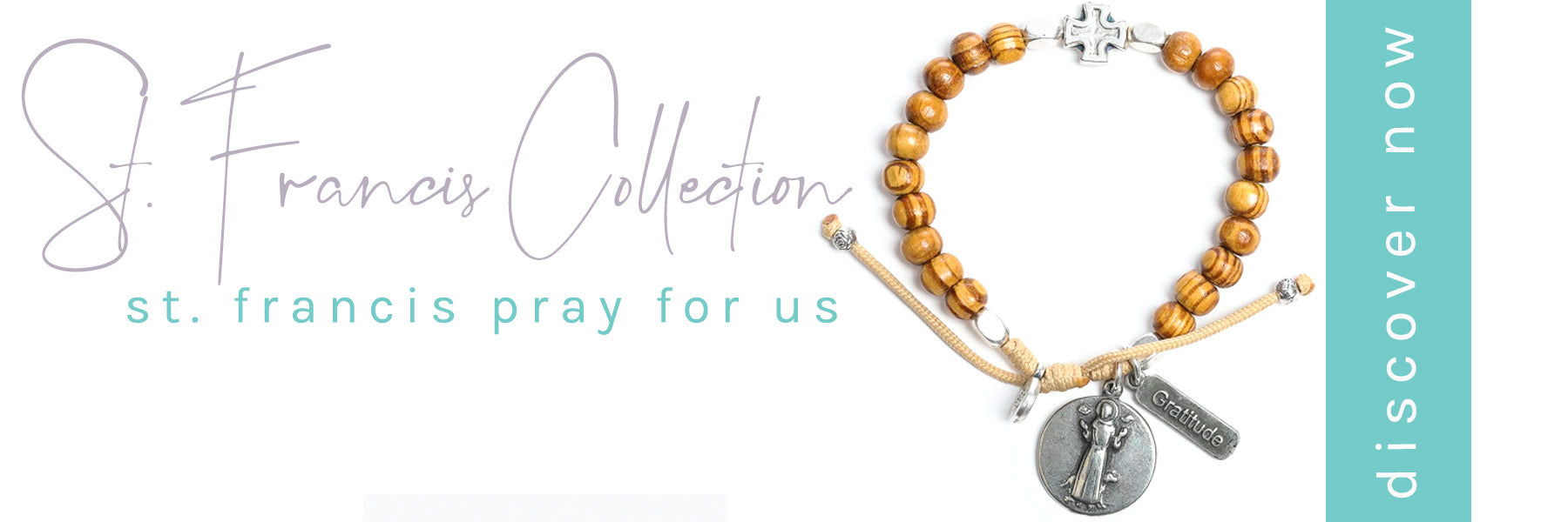 Shop the St. Francis Jewelry Collection