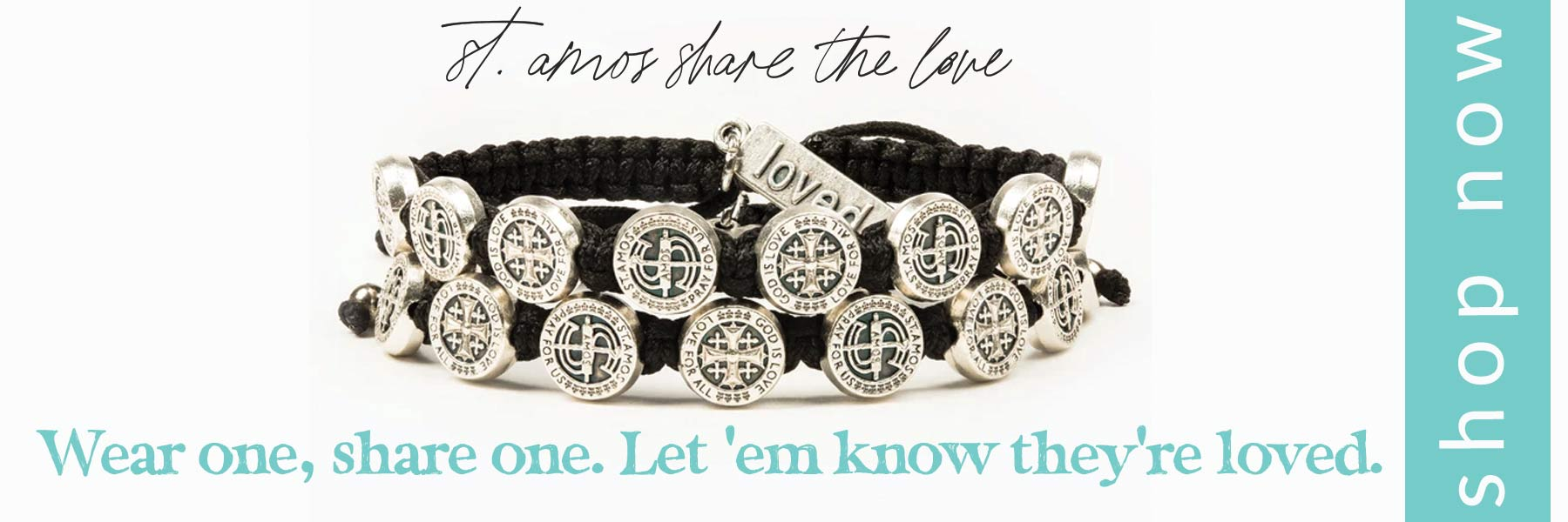 StAmos Share the Love Handwoven Blessing Bracelets that Give Back to Childhelp