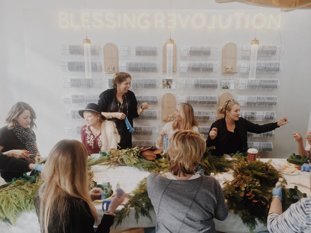 Advent Wreath Making My Saint My Hero Experience Boutique