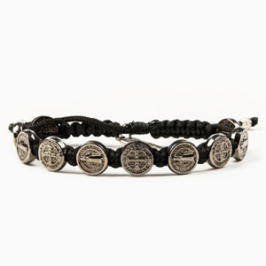 Benedictine Blessing Bracelet - Jet Black