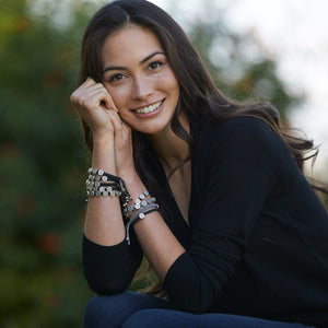 Caitlin Stamos in Share the Love Blessing Bracelets