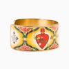 Holy Family Everlasting Heart of God Cuff Bracelet Side