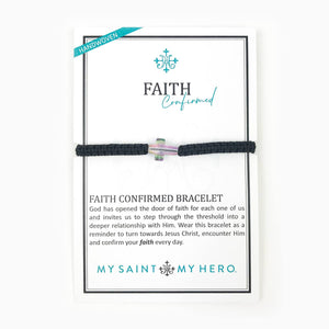 Limited Supply FAITH CONFIRMED BRACELET New for Easter and Lent