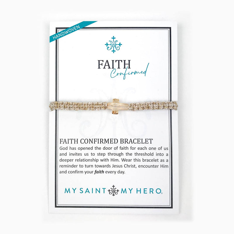 Limited Supply FAITH CONFIRMED Swarovski Cross BRACELET New for Easter