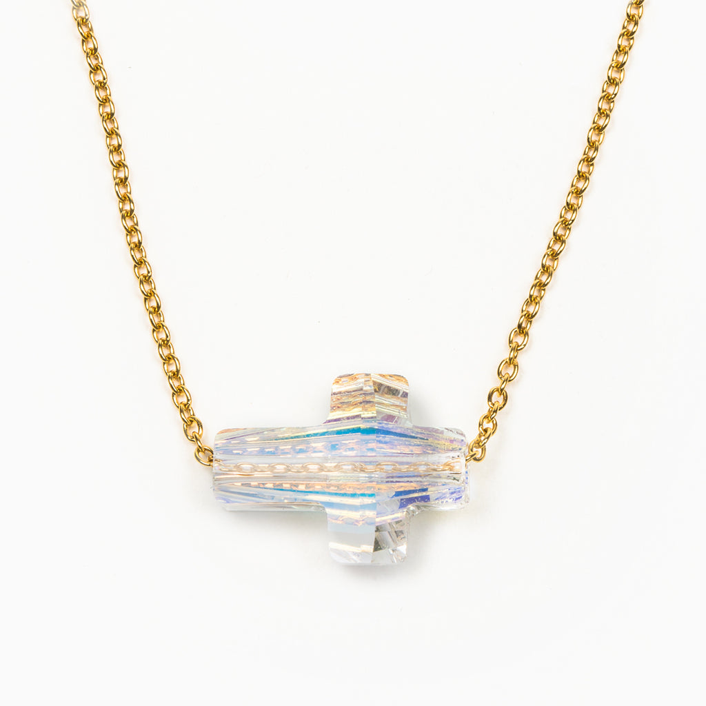Heavenly Sky Necklace - Aurora Borealis