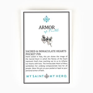 Armor of Faith Pocket Pin