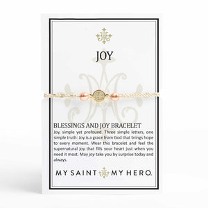 Blessings and Joy Bracelet - Metallics