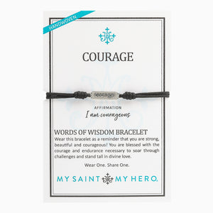 Courage - Words of Wisdom Bracelet