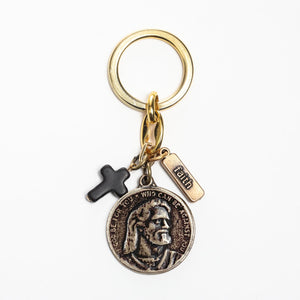 Let Go Let God Keyring