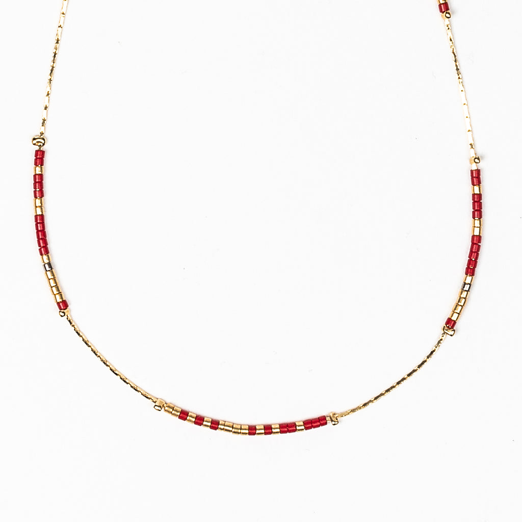 USC Fight On! Morse Code Necklace