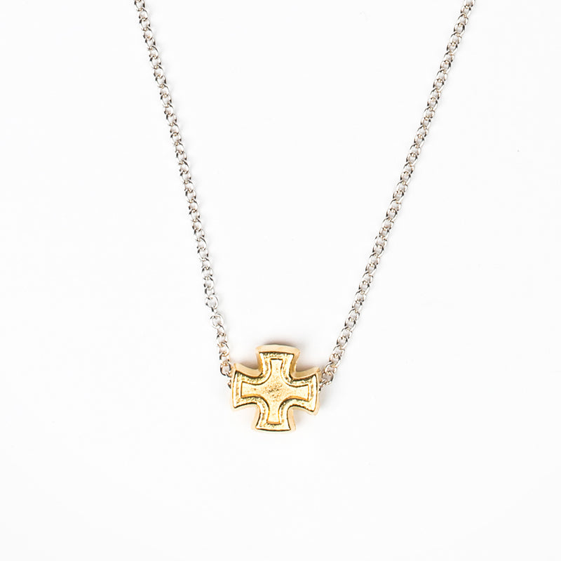 Faith Petite Cross Necklace