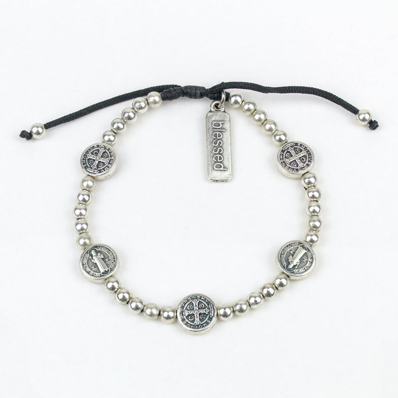 Beaded Benedictine Birthday Blessing Bracelet