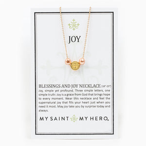 Blessings and Joy Dainty Necklace