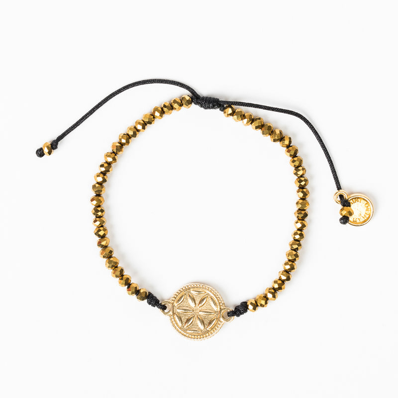 Empower Seed of Life Illuminate Bracelet - Gold