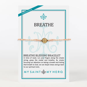 Breathe Blessing Bracelet - Metallic