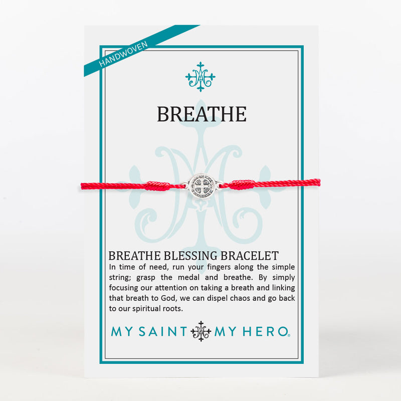 Red, White and Blue Breathe Blessing Bracelet