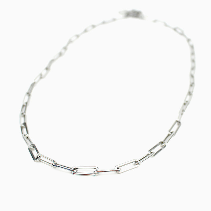 Consecration Chain Necklace Silver