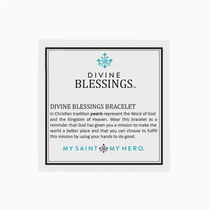Divine Blessings Bracelet Card