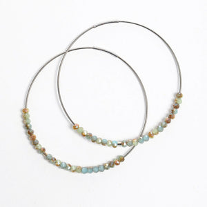 Lord's Prayer Morse Code Hoops