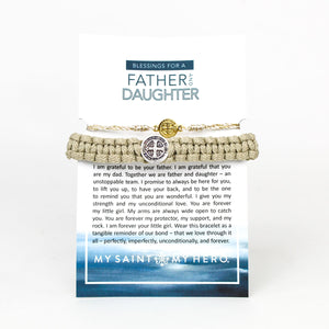 Father and Daughter Blessing Bracelets