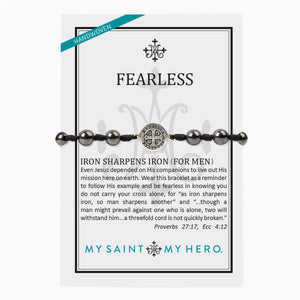 Fearless Iron Sharpens Iron Bracelet