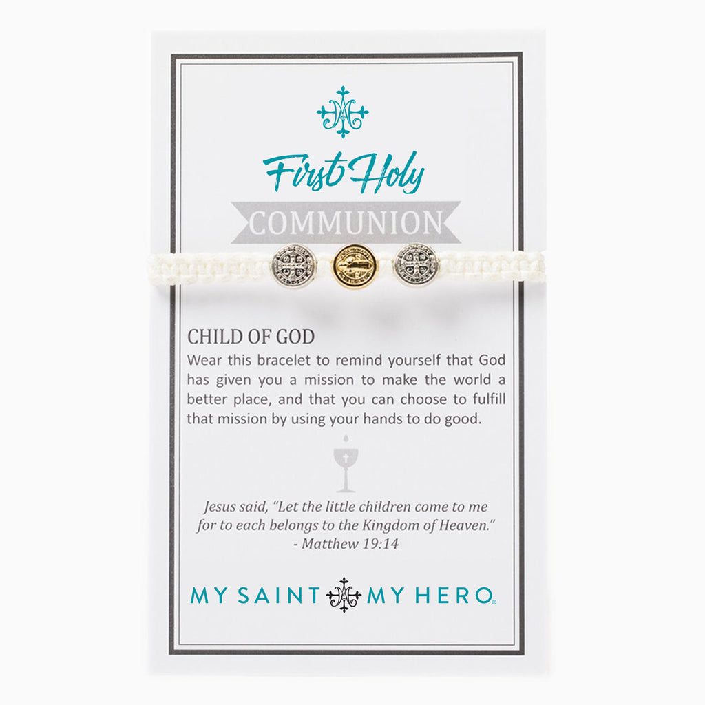 First Holy Communion Child of God Bracelet