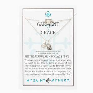 Garment of Grace Petite Scapular Necklace