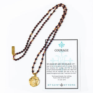 Courage Joan of Arc Necklace