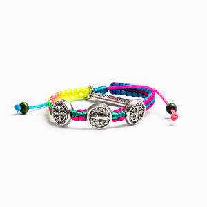 Rainbow Blessing for Kids Benedictine Blessing Bracelet