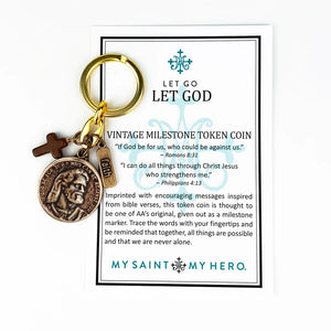 Let Go Let God Key Ring