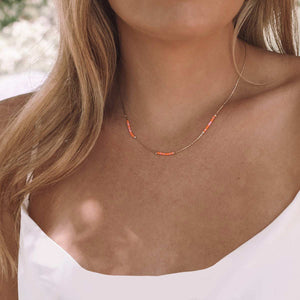 Love Hope Cure Morse Code Necklace