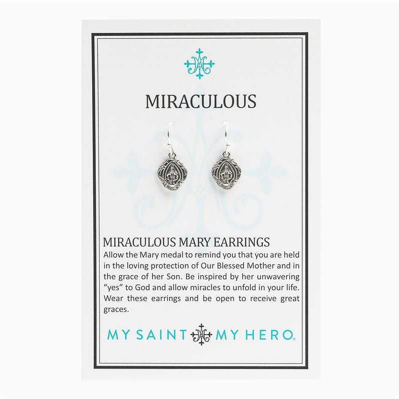 Miraculous Mary Earrings