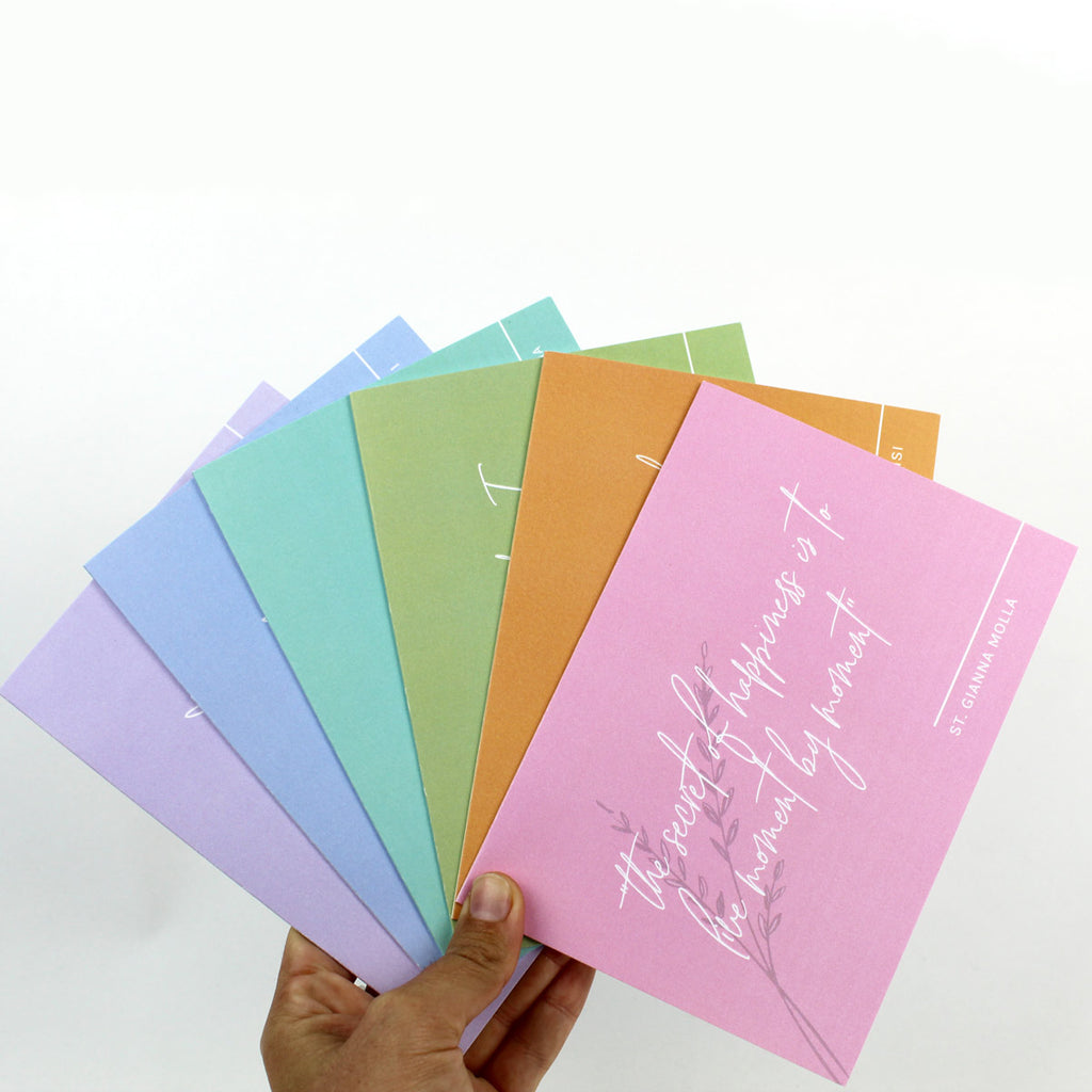 Words of Wisdom Greeting Cards - Set of 6