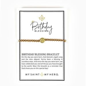 Swarovski Crystal Birthday Blessing Bracelets