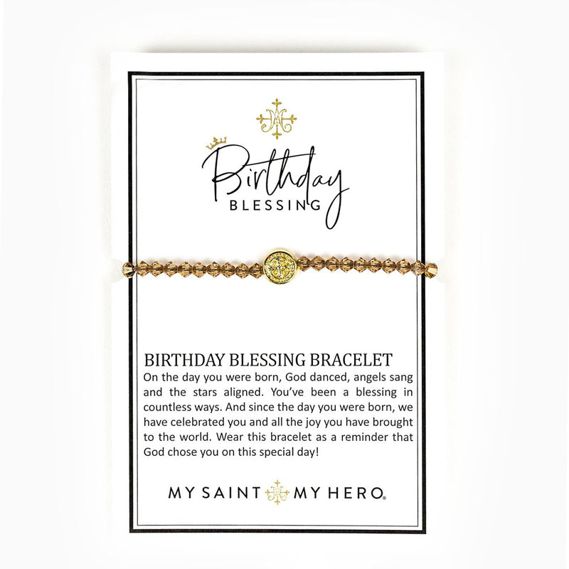 Birthday Blessing Bracelets
